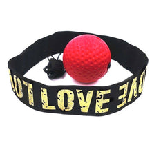 Load image into Gallery viewer, BoxinBall™ Boxing Reflex Ball Speed Punch Head Cap String Fitness Training Tool