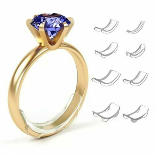 RingFit™ Ring Size Adjuster Invisible Clear Ring Sizer Jewelry Fit Reducer Guard