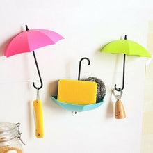 Load image into Gallery viewer, UmbrellaHook™ Colorful Umbrella Wall Hooks Clothes Hat Key Holder Organizer Home Decor