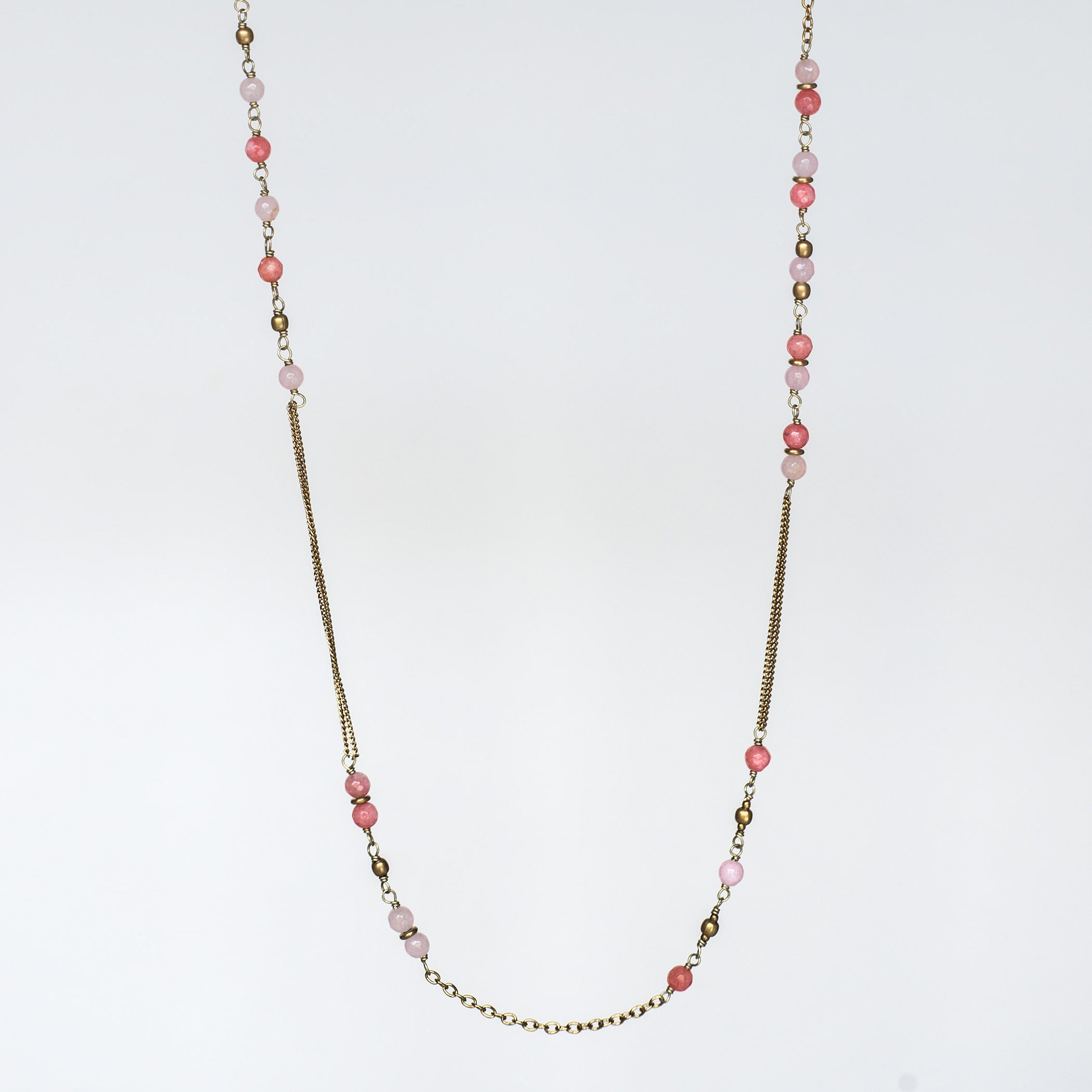 necklace product and dignity strength pink rose shop riot salt