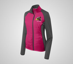 "Legendary ""Cancer Awareness"" Ladies Hybrid Jacket"