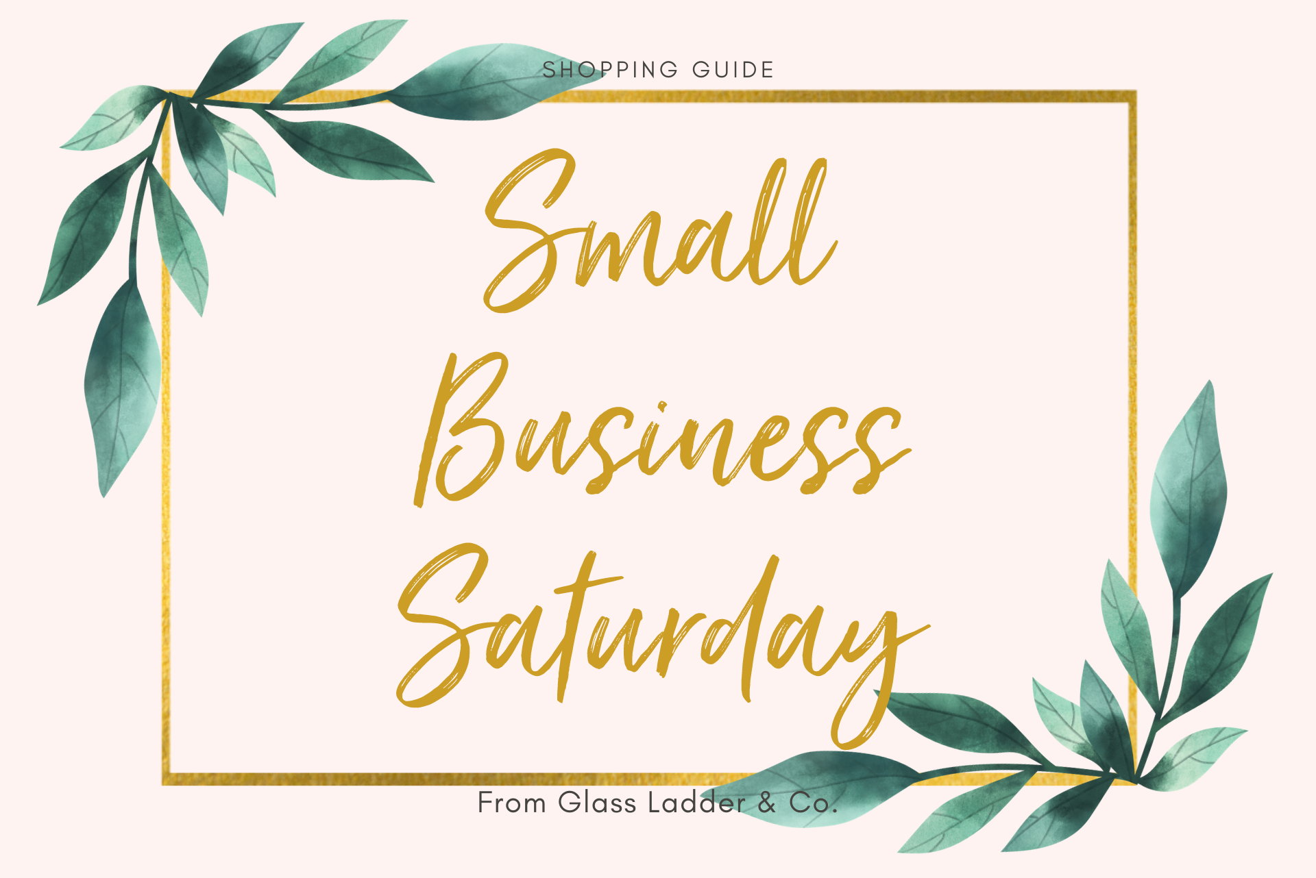 Shop Small Business Guide!
