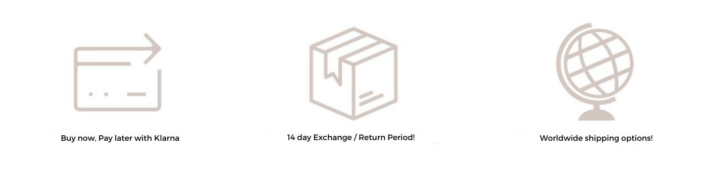 Klarna Payments, Exchanges and Worldwide Shipping