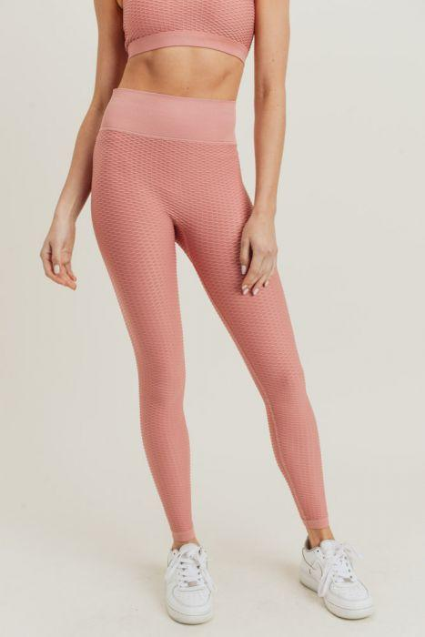 Jacquard Ribbed Leggings