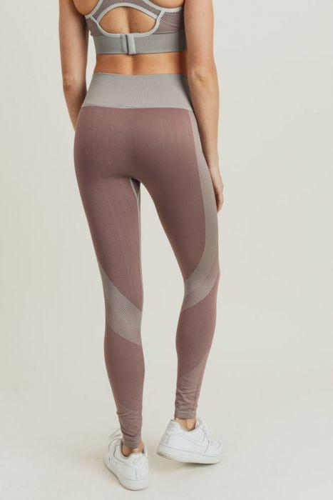 Chevron Track Highwaist Leggings