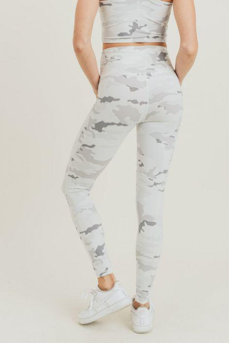 Snow White Camo Leggings