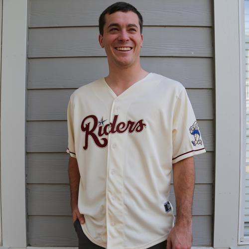 RoughRiders Home Replica Cream Jersey