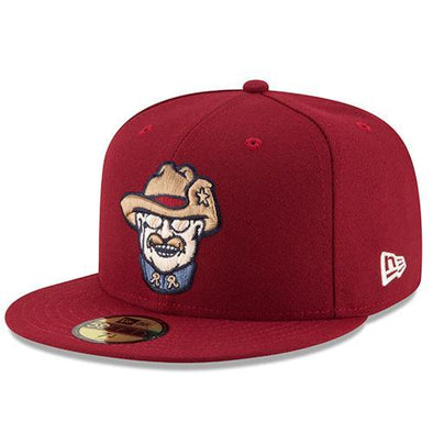 New Era RoughRiders LOW PROFILE On Field Smiling Teddy Hat