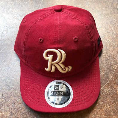 New Era RoughRiders Youth Packable RR Hat