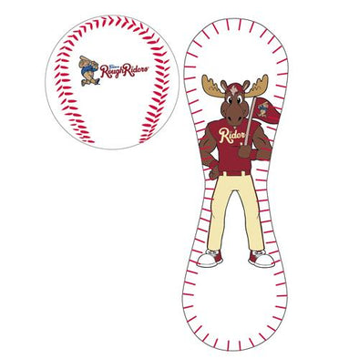Frisco RoughRiders Bull Moose Mascot Baseball