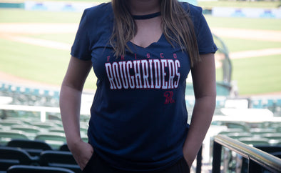 5th & Ocean RoughRiders Women's Choker Tee