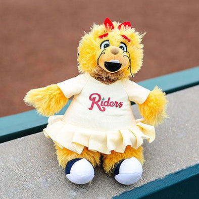 RoughRiders Mascot Daisy Stuffed Animal