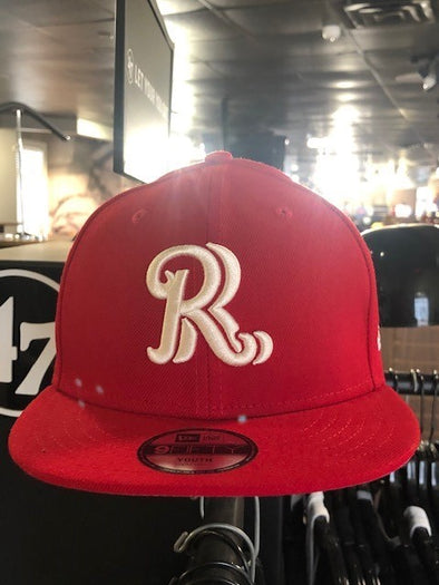 New Era Jr Mascot Flipped RR Youth Snapback Hat