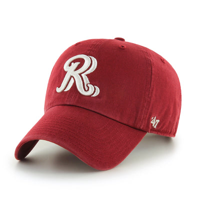 '47 Brand RR Clean Up Hat Red