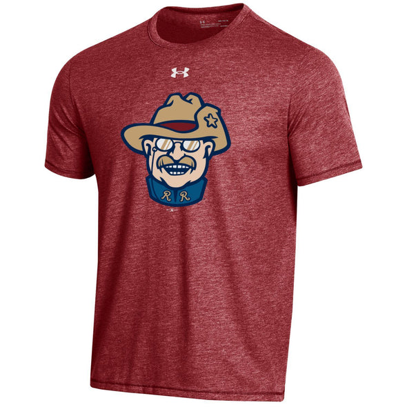 Under Armour Smiling Teddy Bi-Blend Tee Red