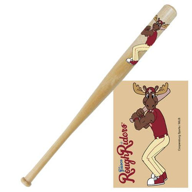 RougHRiders Bull Moose Mini Bat