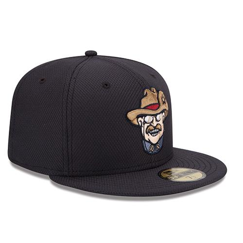 New Era RoughRiders Batting Practice Smiling Teddy Hat