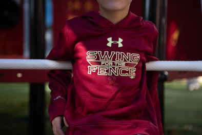 Frisco RoughRiders Under Armour Youth Swing for the Fences Hoodie
