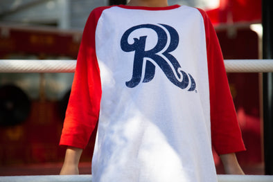 108 Stitches RoughRiders Youth RR Raglan