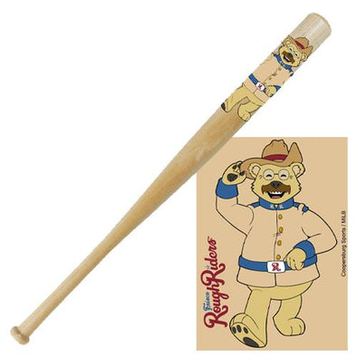 RoughRiders Ted E. Bear Mini Bat