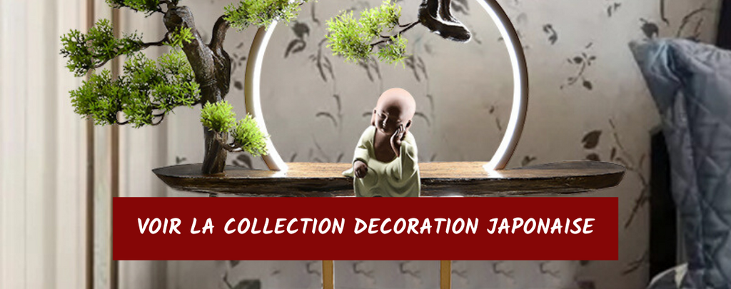 Collection décoration japonaise