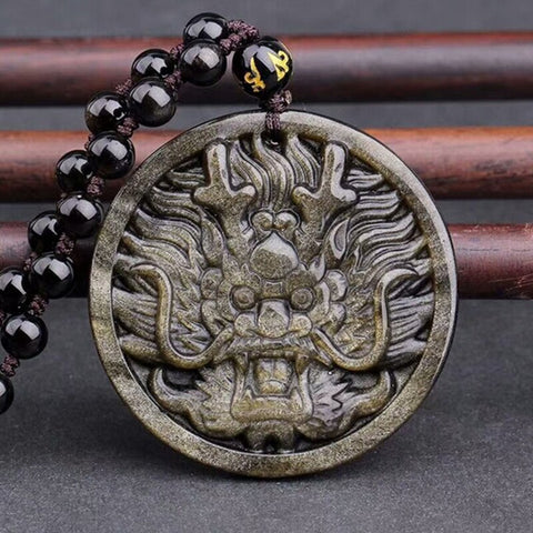 Collier Japonais Dragon