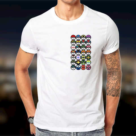 T-Shirt Pokeball