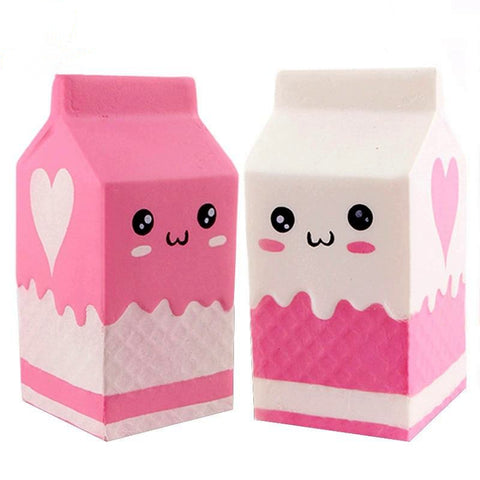 Squishy Kawaii  Brique de Lait