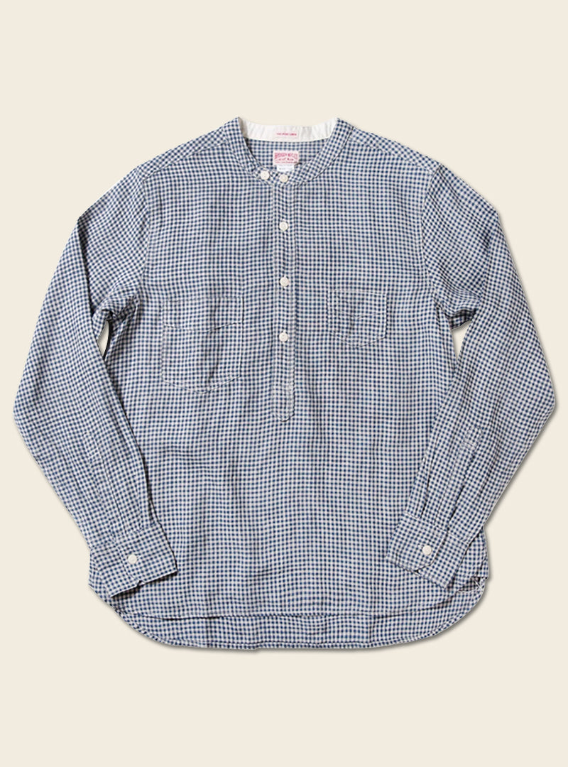 1920s 6.5oz Linen Pullover Worker Shirt