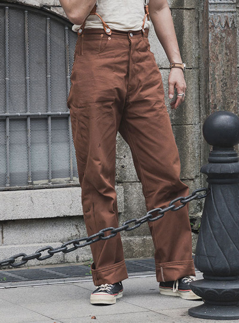 Lot 873 Duck Canvas 1st Copper Riveted Work Pants