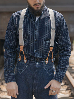 10oz Wabash Selvage Denim Work Shirt