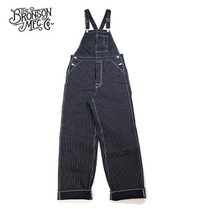 Bronson Lot 925 14.5OZ Selvage Denim Wabash Bib Overalls