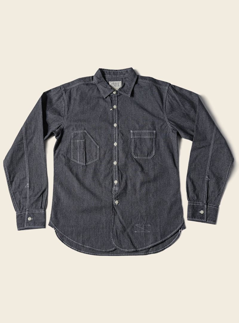 Lot 910 Salt & Pepper Daily Work Shirt