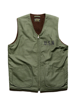 World War II US Navy USN Deck Vest