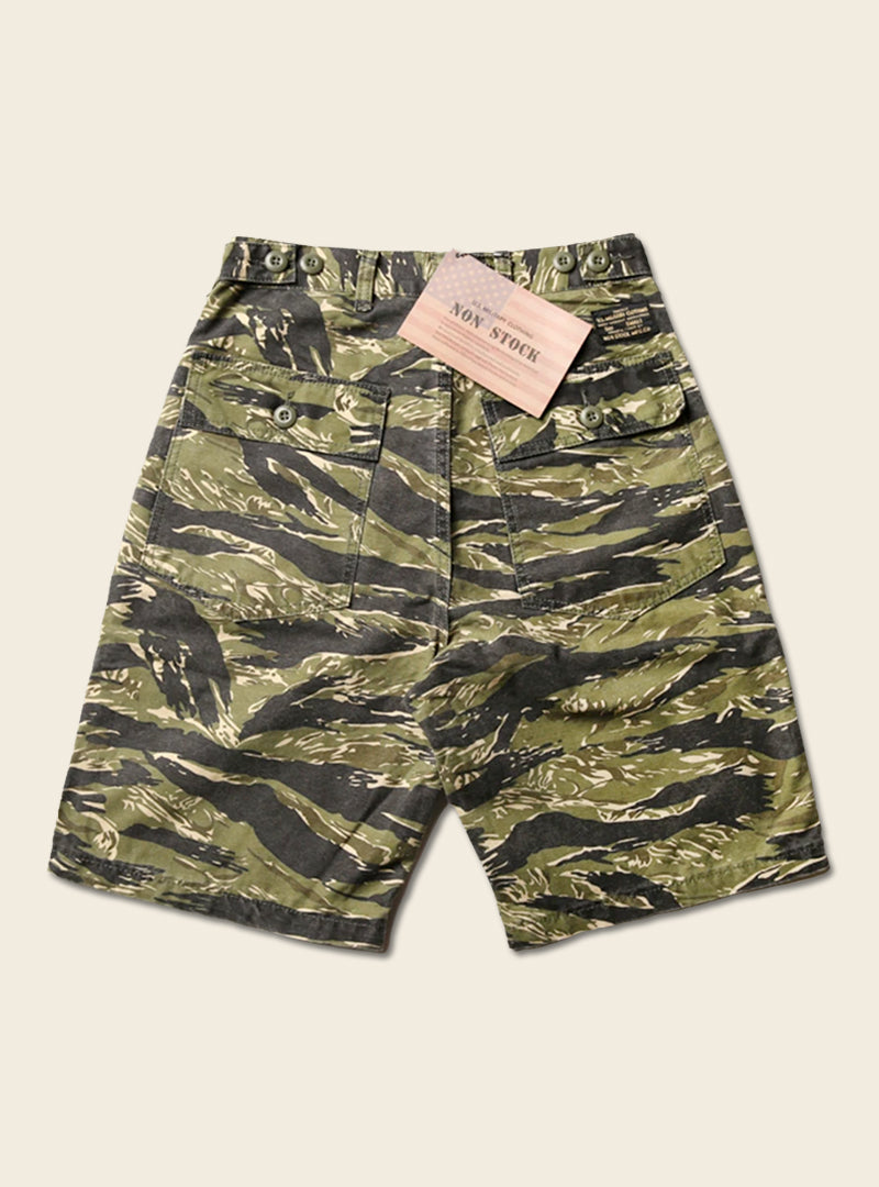 Vietnam War Tiger Camouflage Military Shorts