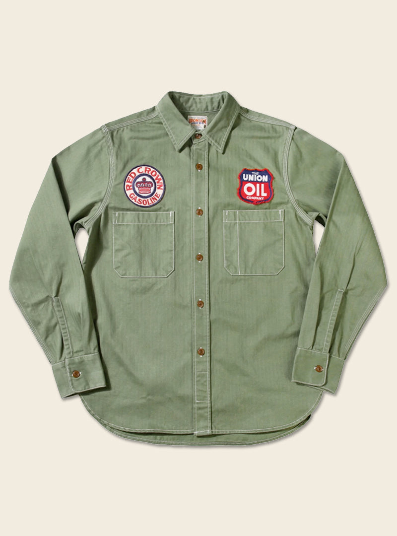 Gas Station Winchman Red Crown Service Shirt