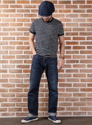 Sailor's Striped Short-Sleeve T-Shirt