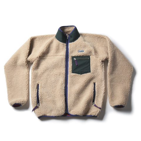 Bronson 1989 Model Men's Classic Polyester Fleece Cardigan