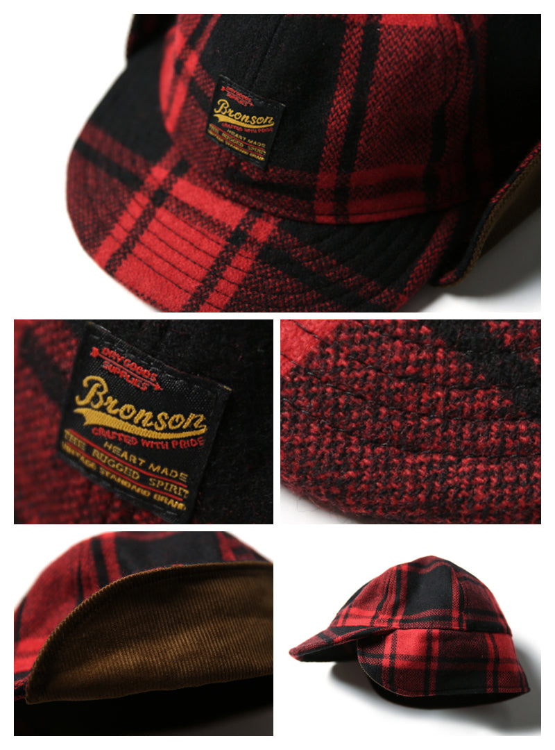 Flannel Outdoor Ear Flaps Hunting Cap