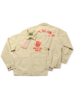 6147TH Tac Con Gp Mosquito Club Embroidery Jacket