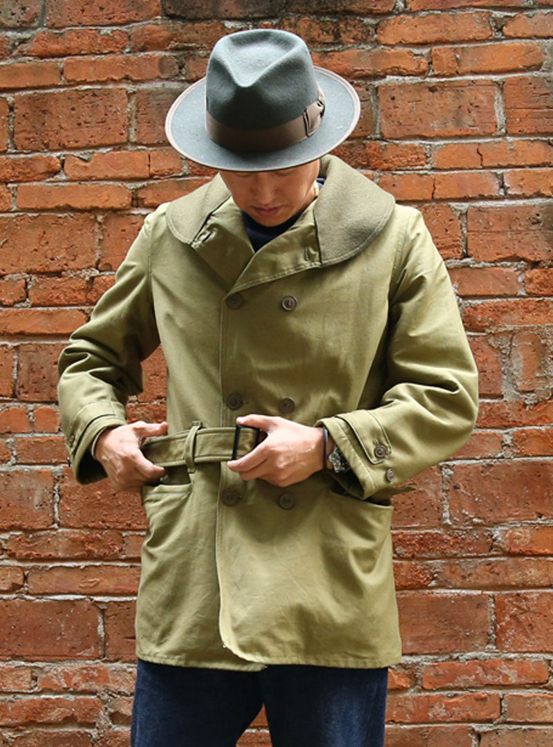 US Army WWII Officer Jeep Mackinaw Jacket