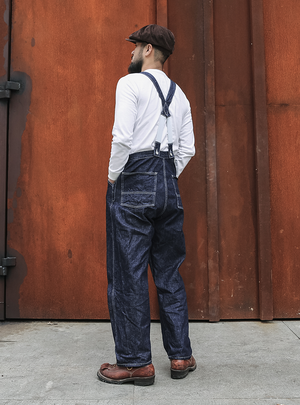 1920s Lot 926 Selvage Denim Bib Overalls