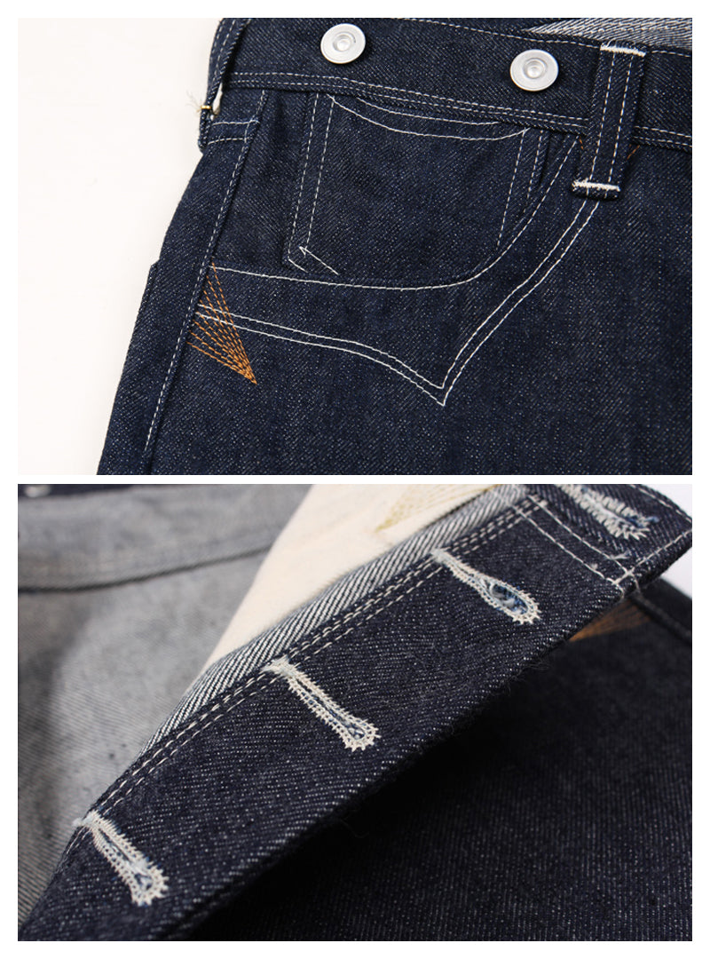 Lot 877 Nevada Gold Rush Selvedge Denim Jeans