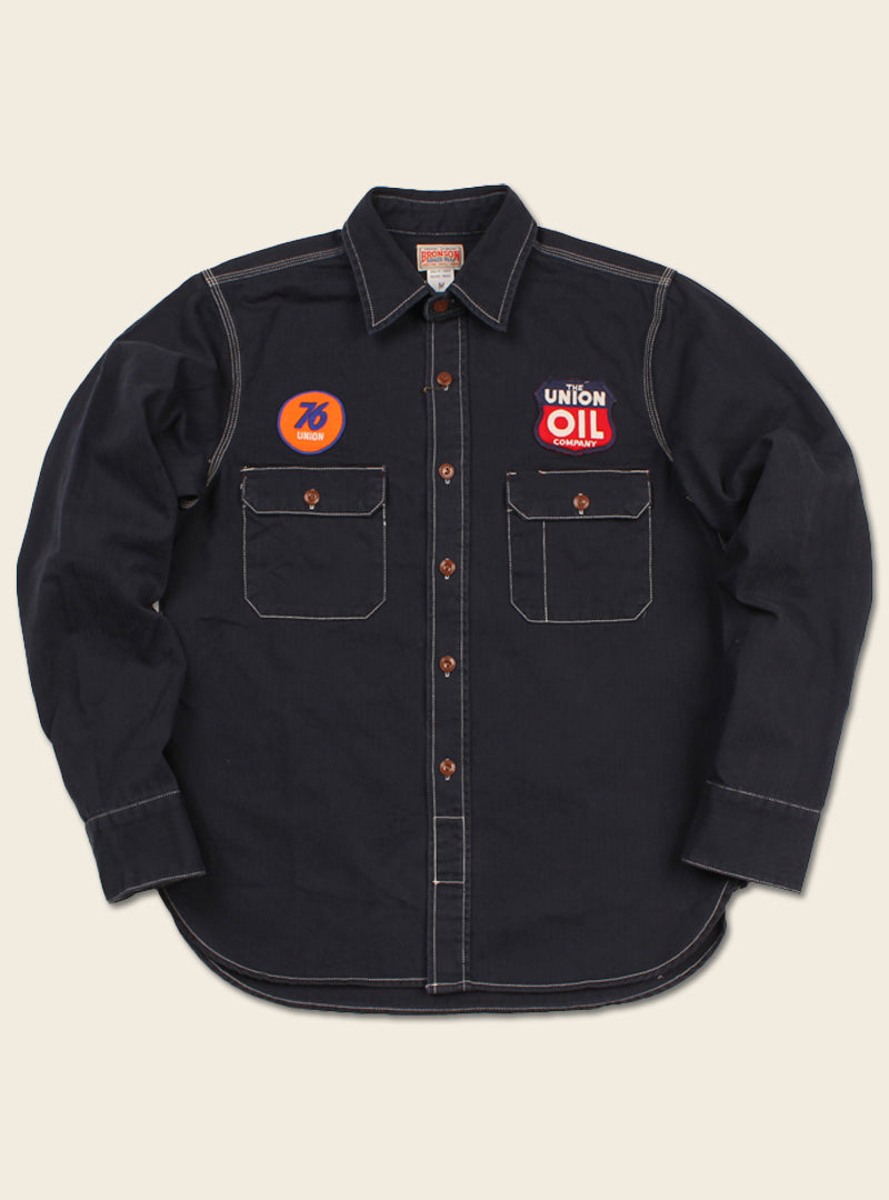 Union Oil Gas Station Service Work Shirts