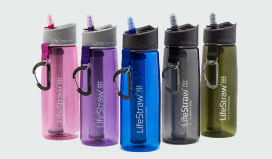 Life Straw Go Bottle with 2-Stage Water Filtration