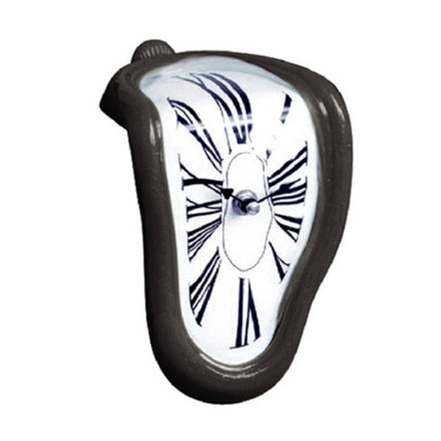 Modern Design Surrealist Salvador Dali Style Wall Clock