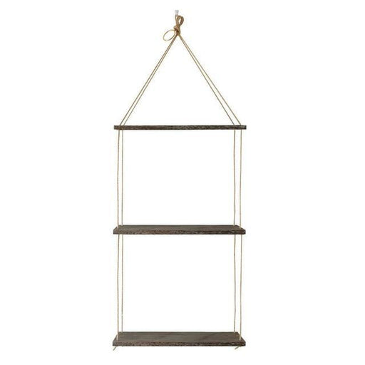 Rustic Wooden Hanging Shelf - LuxVerve