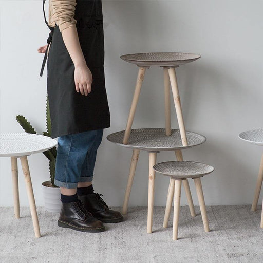 Round Side Table - LuxVerve