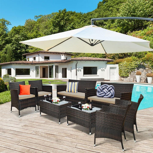 Patio Furniture Set - LuxVerve