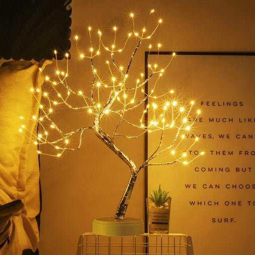 LED Tabletop Bonsai Tree Lamp - LuxVerve